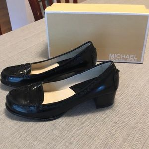 Never worn! Michael Kors patent leather loafer